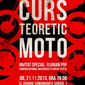 Curs teoretic moto - invitat Florian Pop