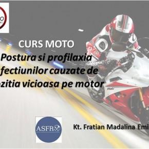 Curs teoretic moto - postura pe motocicleta