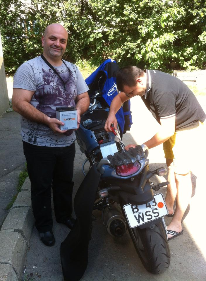 Plimbare moto incepatori Cheia Brasov