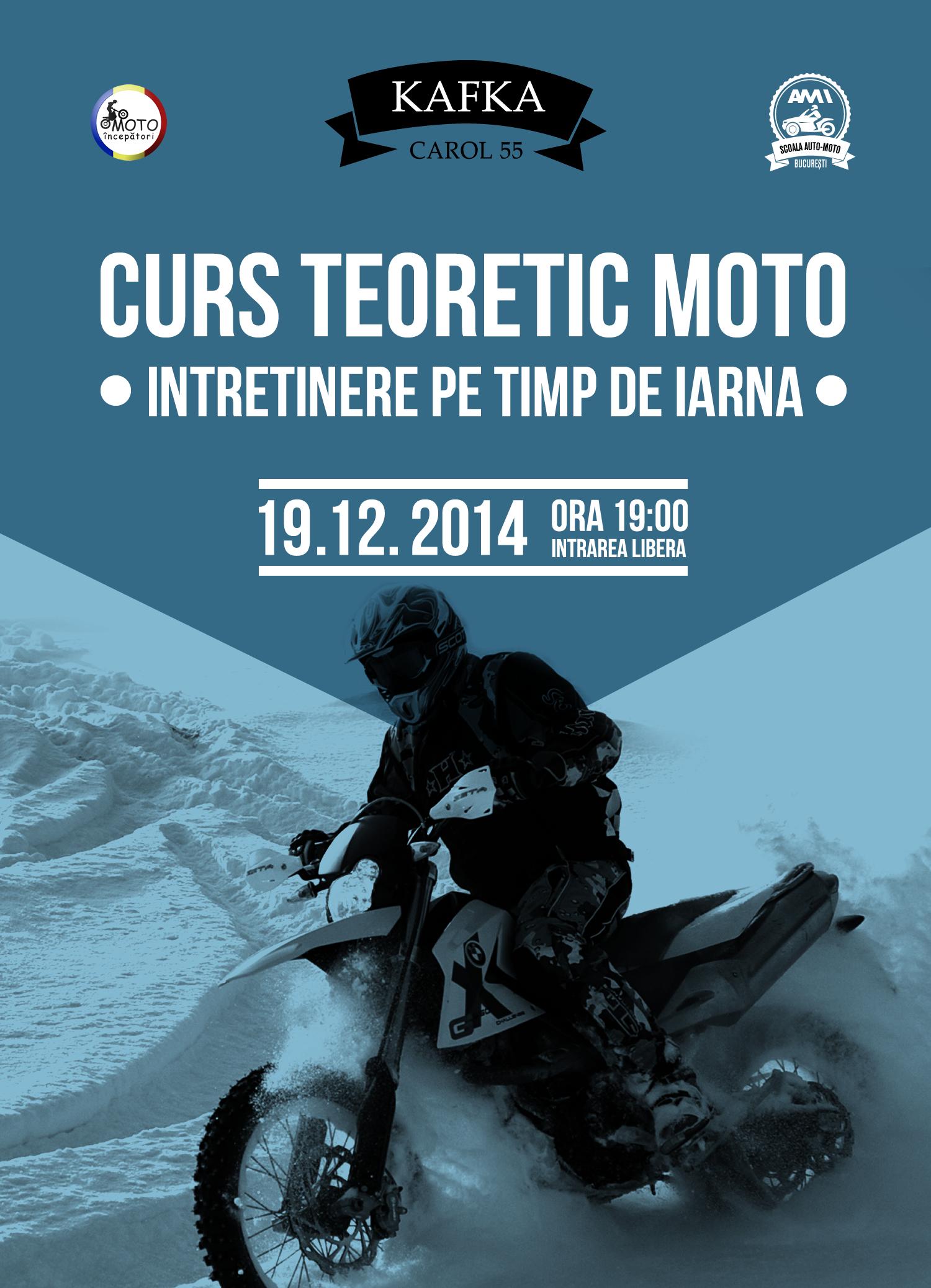 curs moto intretinerea de iarna