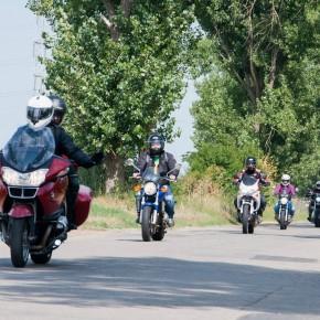Plimbare Moto Incepatori - Comana 12.07.2015