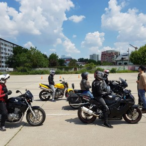 Curs Perfectionare Moto in poligon 22.05.16