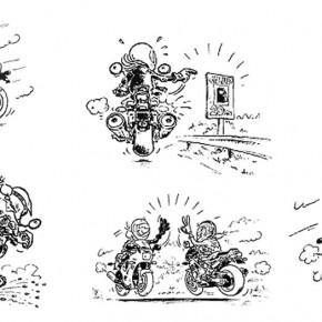 Saluturi şi alte semne intre motociclişti