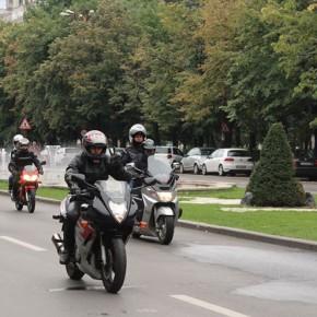 Plimbare Moto Începători la Olteniţa - 28.05.2017