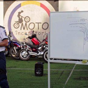 Curs de conducere preventiva moto - cu Politia Rutiera