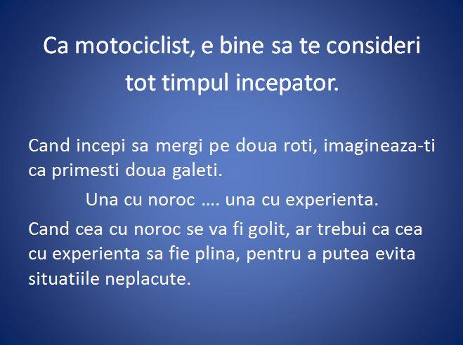 curs moto incepatori