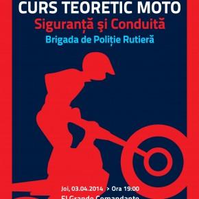 Brigada Rutiera a Politiei Romane alaturi de Moto Incepatori