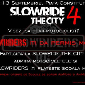 Moto Incepatori la SlowRide the City 4