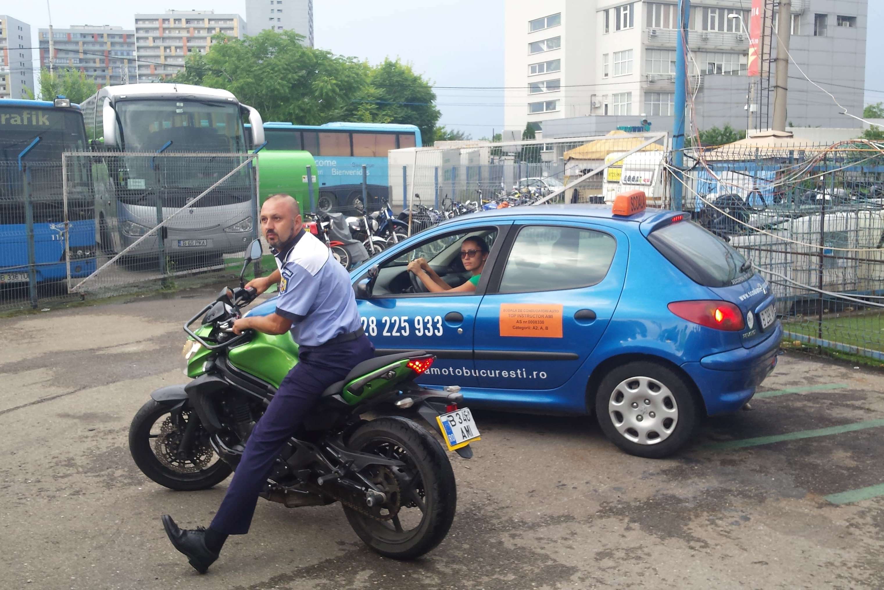 Curs de siguranta rutiera - Politia Rutiera - scoala moto